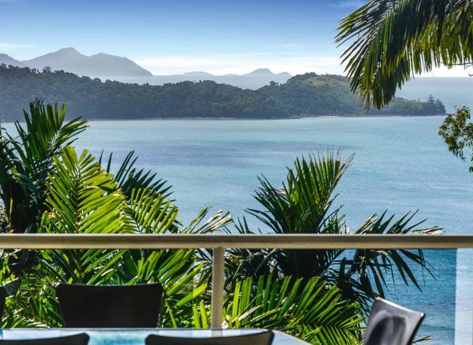 Balcony overlooking Hamilon Island