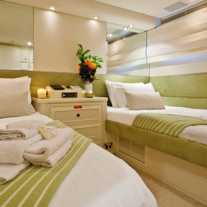 Oscar II yacht whitsundays bed