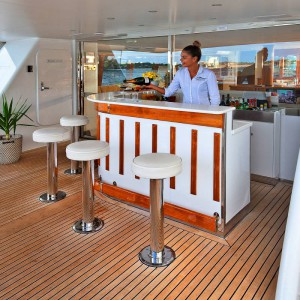 Oscar II yacht whitsundays bar