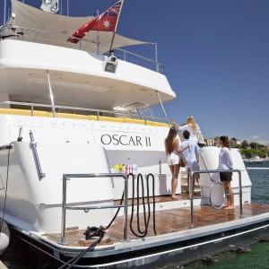 Oscar II yacht whitsundays rear