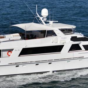 Cosmos yacht underwater
