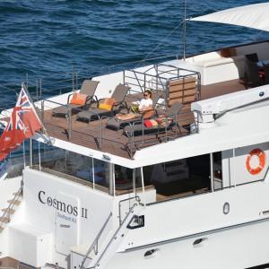 Cosmos yacht sun deck
