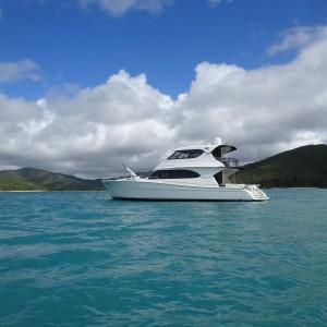 Maritimo 60 hamilton island ocean free anchored
