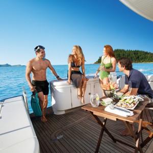 Maritimo 60 hamilton island ocean free back deck