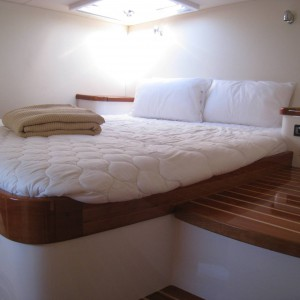 montebello 12.5 sailing catamaran cabin