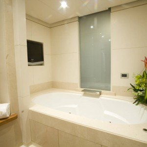 Yacht charters whitsundays bathroom
