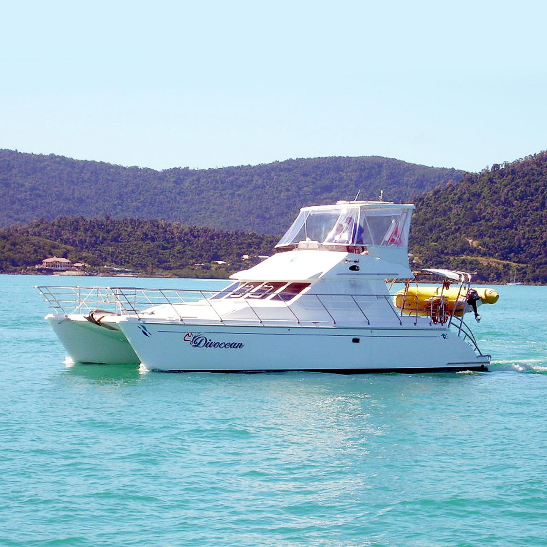Luxury Venturer 38 Catamaran Power Catamaran In The