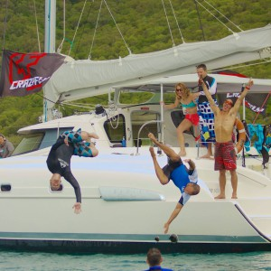 yacht charters whitsundays swimmers