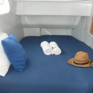 Seawind 1250 catamaran bedroom