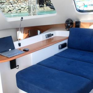 seawind 1250 catamaran interiors