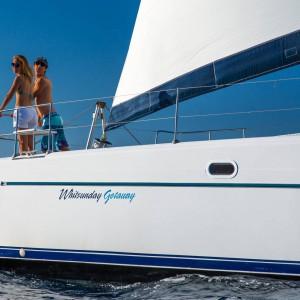 whitsunday getaway catamaran