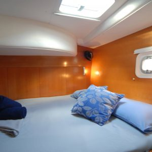 whitsunday blue catamaran bedroom