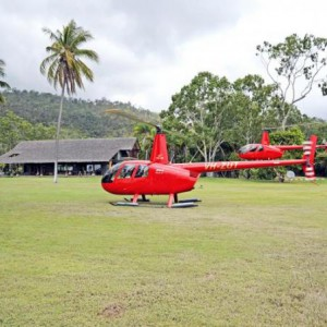 Ride to paradise helicopter
