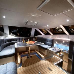 bliss yacht indoor
