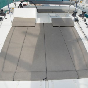 lagoon 450 sailing catamaran yacht outer bed