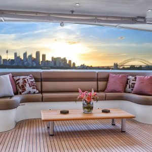 CORROBOREE Luxury Motor Yacht Hamilton Island